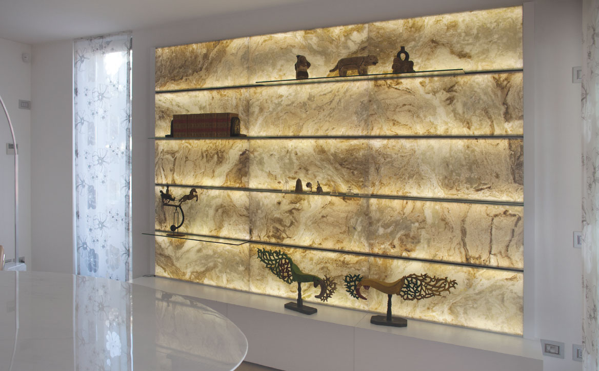E Light Stone System By Elite Stone Backlit Onyx And Marble