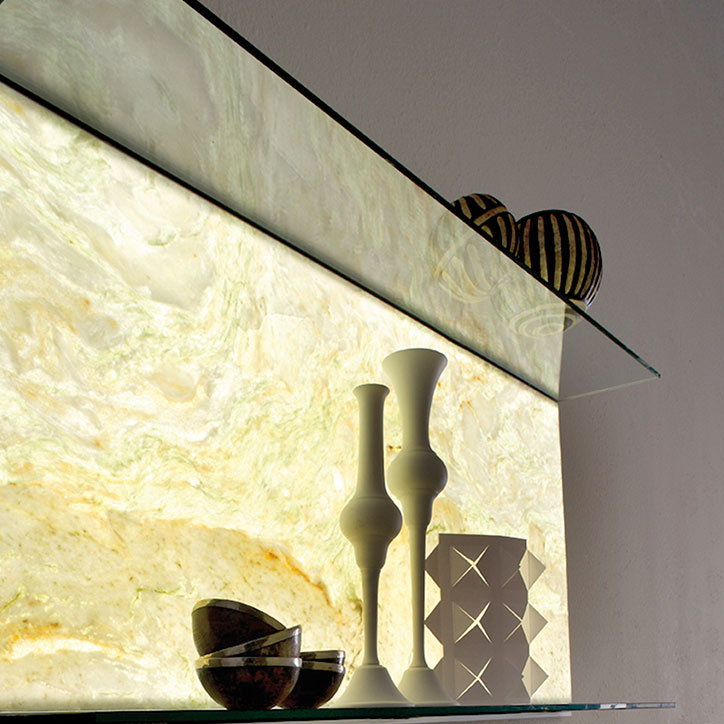 E-Light Stone System by Elite Stone, Backlit Onyx and Marble