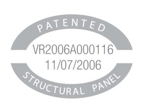 Patents 1 stuctural panel