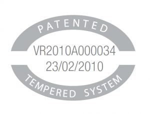 Patents 2 tempered system