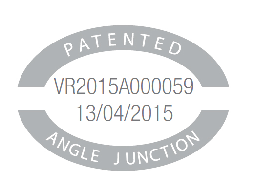 Patents 3 angle junction