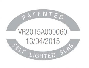 Patents 4 self lighted slab